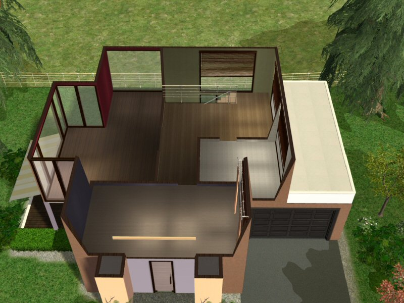 haus modernes zuhause f r junge paare das gro e sims 3. Black Bedroom Furniture Sets. Home Design Ideas