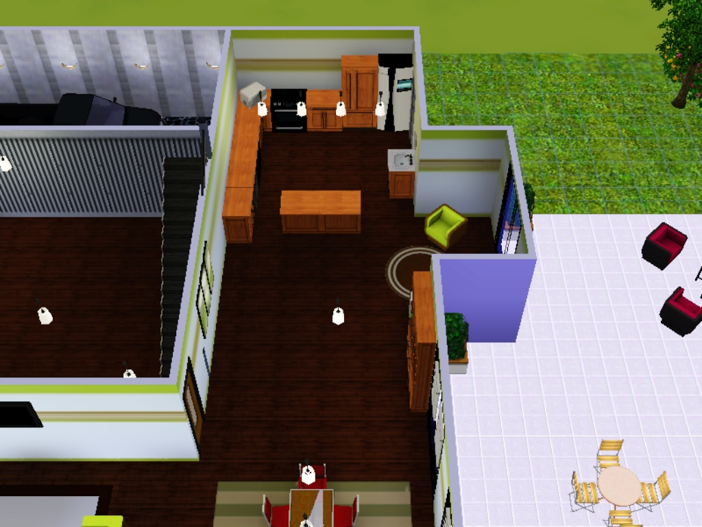 das gro e sims 3 forum von und f r fans vorstellung mein haus nr 4. Black Bedroom Furniture Sets. Home Design Ideas