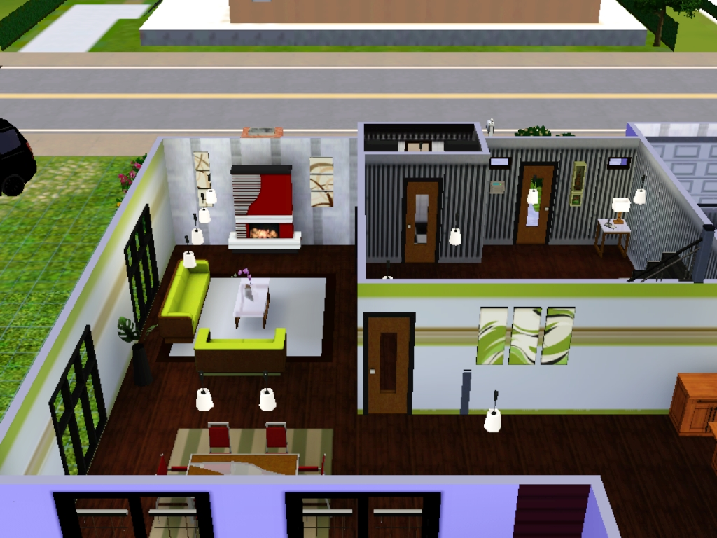 vorstellung mein haus nr 4 das gro e sims 3 forum von und f r fans. Black Bedroom Furniture Sets. Home Design Ideas