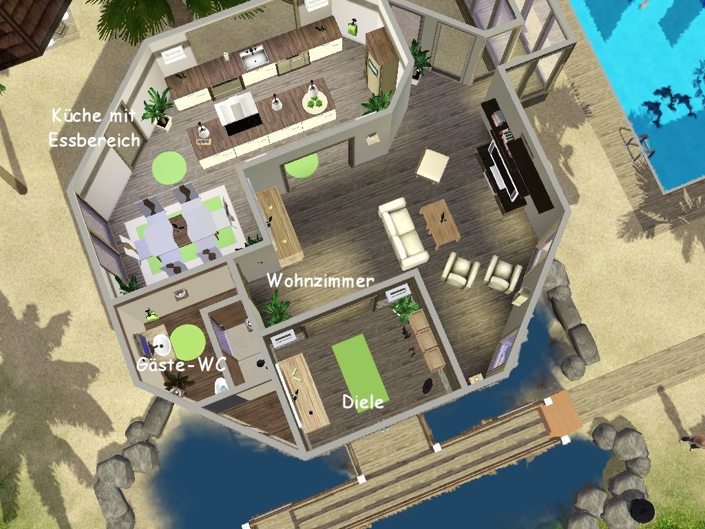 Sims 3 Bungalow