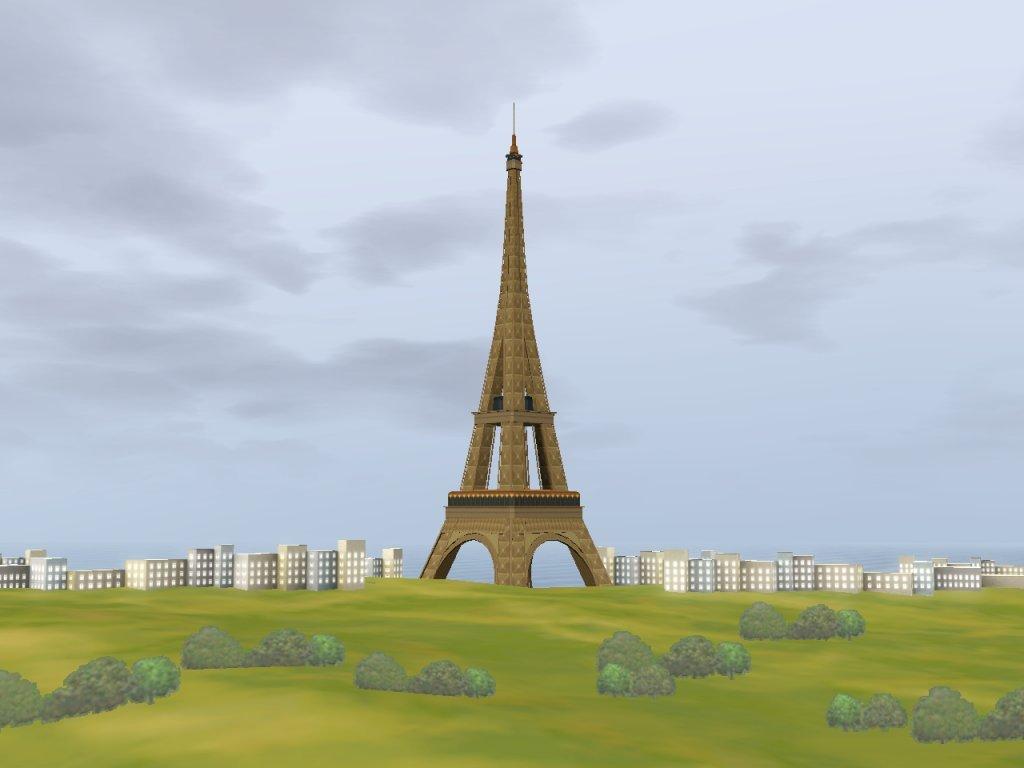 Sims 3 Eiffelturm