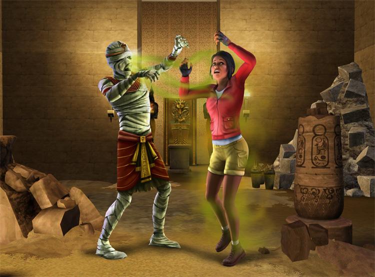 Angriff der Mumie