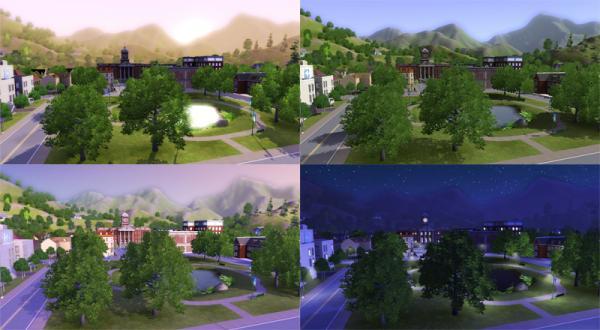 Sims 3 Tageszeit