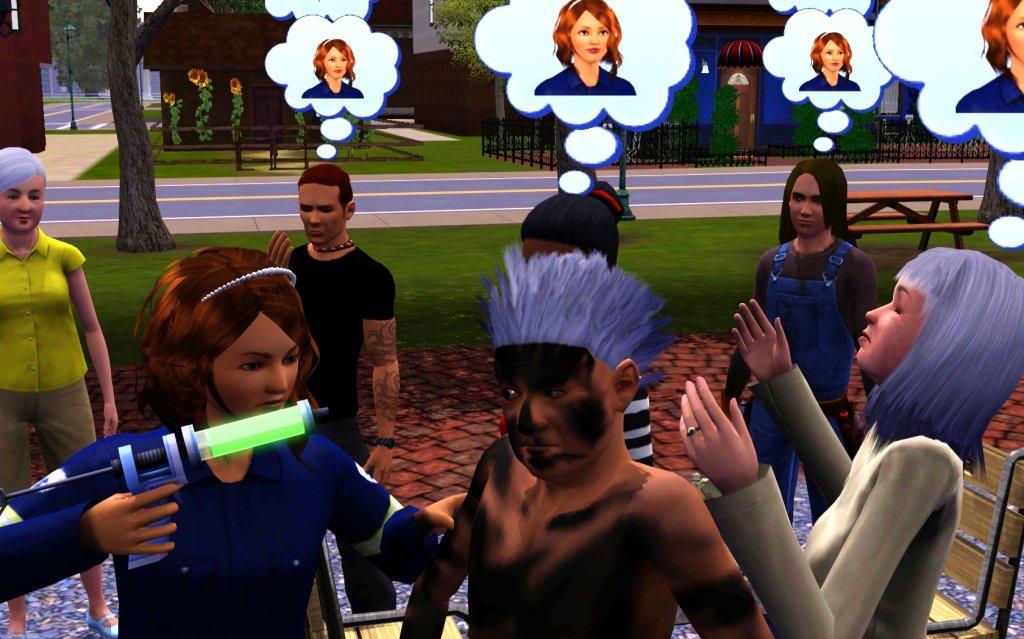Sims 3 Impfaktion
