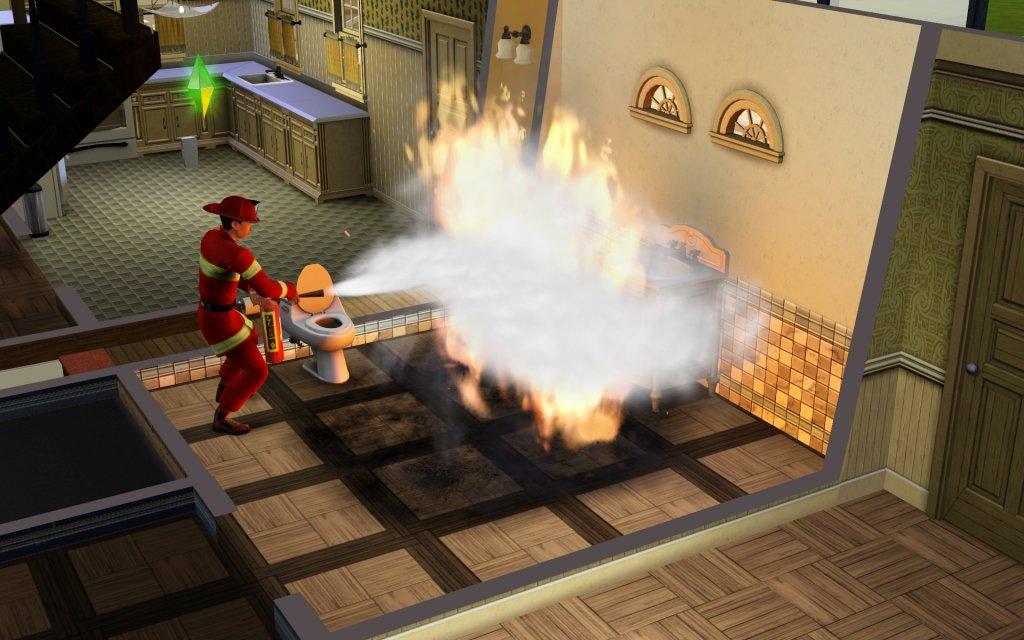 Sims 3 Feuerwehr