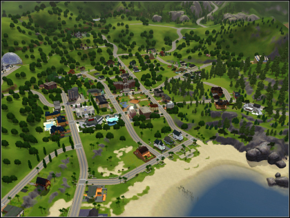 Sims 3 Sunset Valley