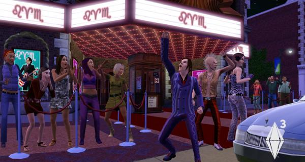 Nightlife in Sims 3