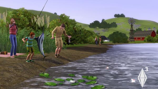 Heute gehen wir angeln
