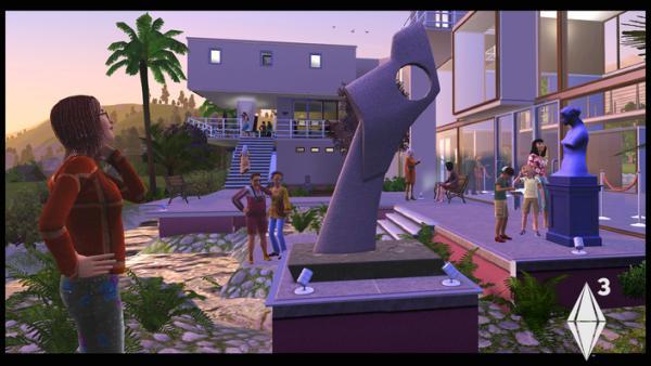 Sims 3 Arts