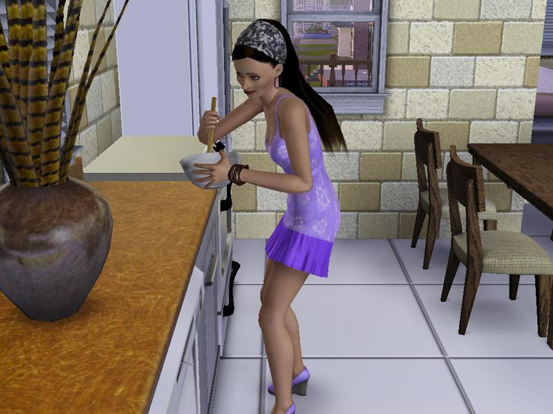 Kochen in Sims 3