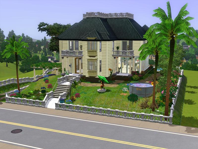Sims 3 Villa