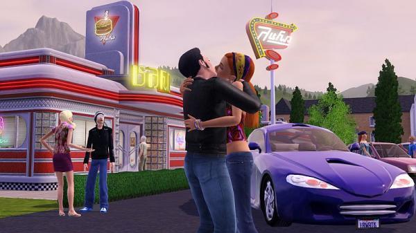 Sims 3 Liebespaar