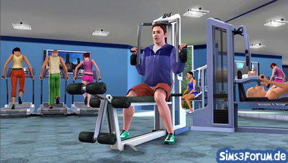 Sims 3 Sport und Fitnesscenter