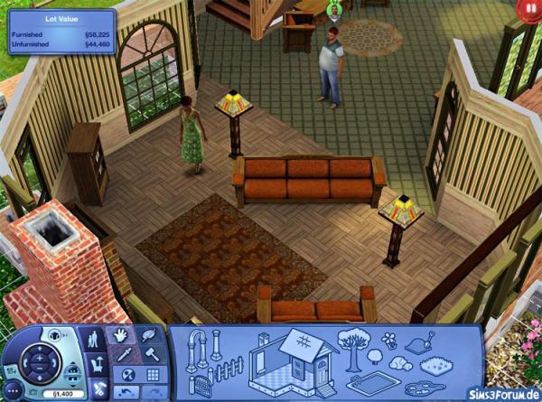 Sims 3 Wohnzimmer