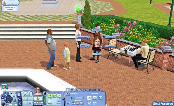 Sims 3 Interaktionen