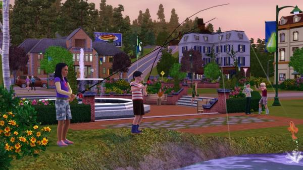Sims angeln
