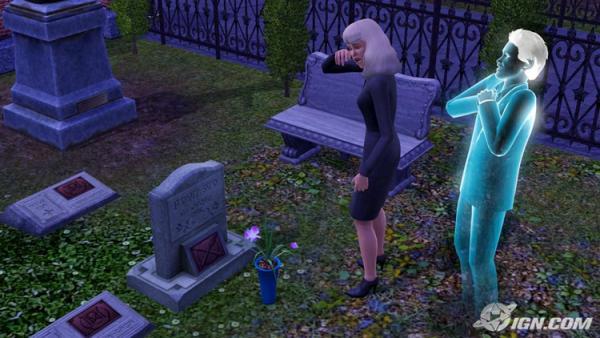 Sims 3 Geister