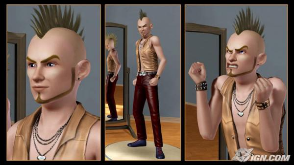 Sims 3 Punk Style